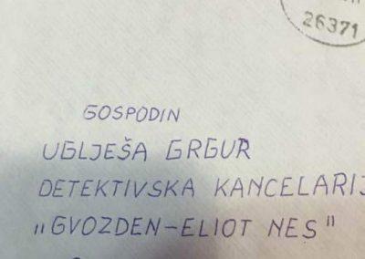 Koliko je detektiv poznat, nije potrebno da pišete ni adresu