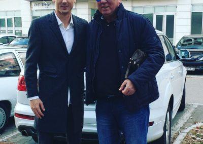 Sa našim fudbalskim reprezentativcem Nemanjom Matićem
