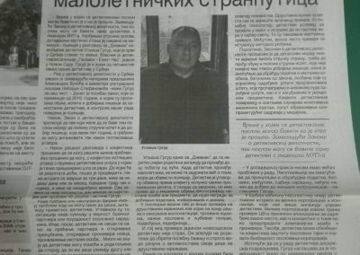 Dnevnik 30.9.2019. god.