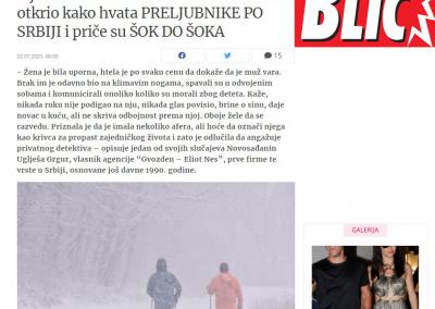 Intervju - Blic 02.01.2020.